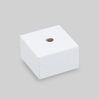 Kleine magnetische Präsentationshilfe für Ringe in edlem Weiss