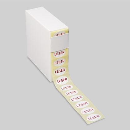 Ovale Etiketten zur auffälligen Kennzeichnung für Handel und Industrie