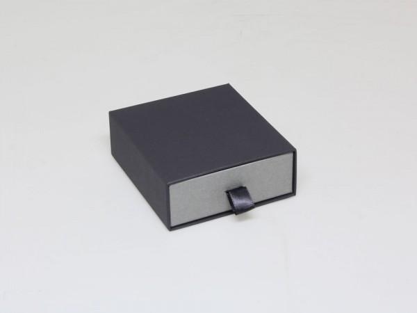Armreif oder Schmuckset Schuberbox mit Schaumstoffeinlage und separater Abdeckung