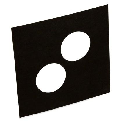 Trauring Einlage für 5950 66, runde Stanzung (Pck. á 10 Stück)