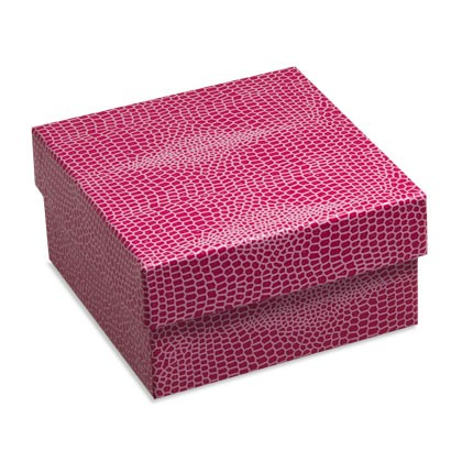 Schmuckverpackungen in Trendfarbe mit zusätzlichem Zugbeutel für diverse Produkte