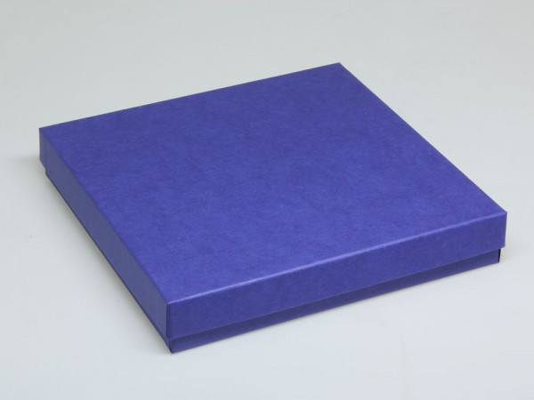 Blaue Geschenkverpackungen aus Karton für eine Foto-CD, Schmuck und Accessoires