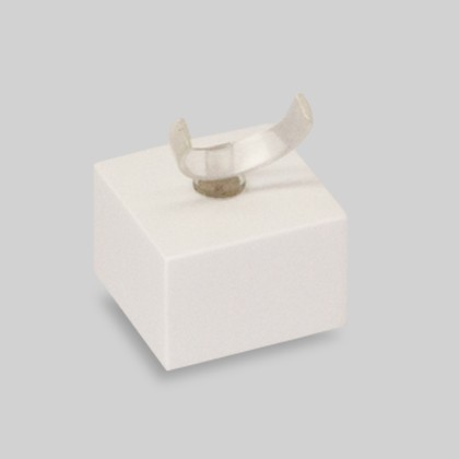 Ringsockel klein als Präsentationshilfe und Aufsteller für Ringe