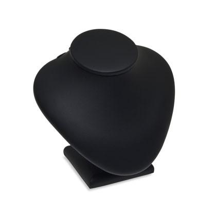 Kleine schwarze Büste als Kettenständer und zur Schaufensterdekoration geeignet