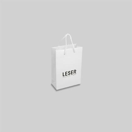 Tragetasche aus Papier für Geschenke, Kosmetik, Wellness und Optiker