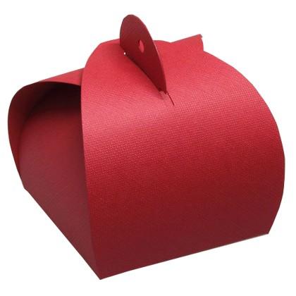Rote Faltverpackung - Fixbox klein