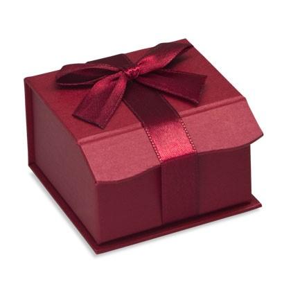 Rote Schachteln aus Karton zum verpacken von Schmuck und Geschenken, für Weihnachten
