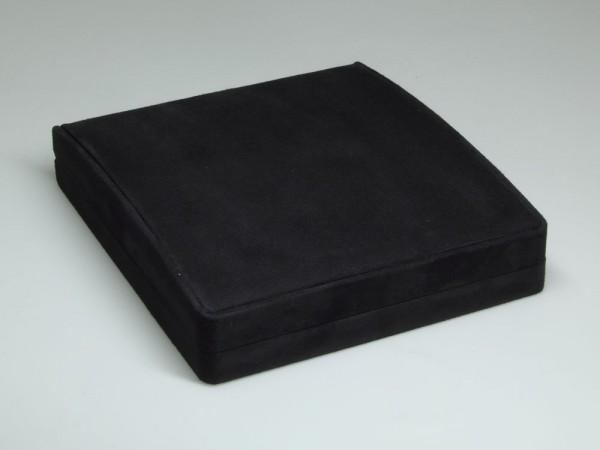 Collieretui, Schatulle, Verpackung für Halsketten, inkl. schwarzem Umkarton
