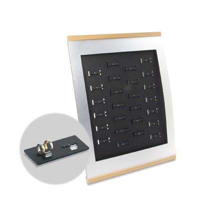 Trauringständer BASIC für 26 Paar Trauringe mit Preishalter für DELTA-Ziffern
