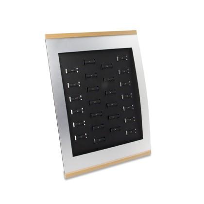 Trauringständer BASIC für 26 Paar, mit Öffnungen für Preisetiketten