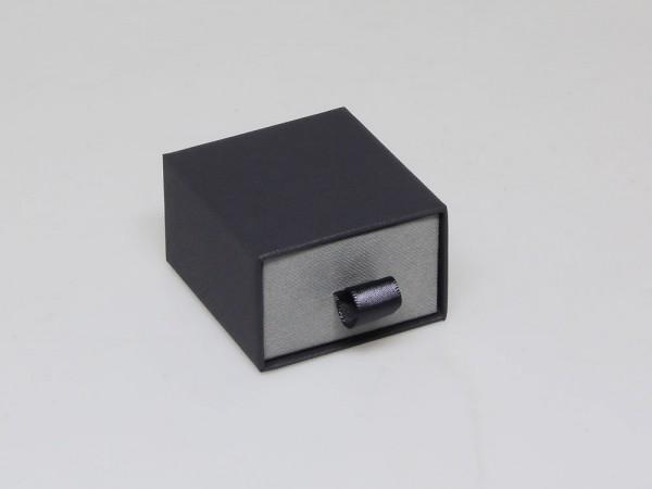 Hochwertige Schuberbox als Verpackung für Ringe, Trauringe oder Ohrstecker